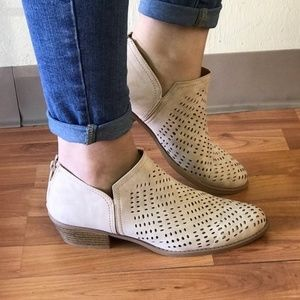 Shoes - Katie Taupe Booties
